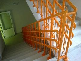 Ограждение лестничное, Брест, Школа-сад