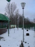 г.Кобрин, кафе Беларуснефть, опоры освещения