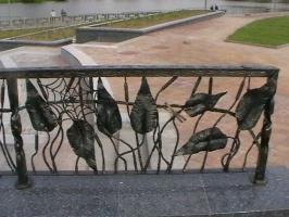 Ограждение фонтана, г.Минск, пр.Победителей